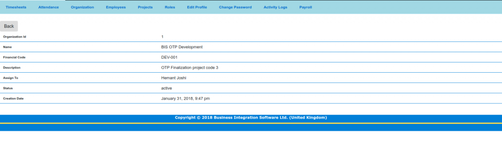 Free Online Time Tracking Project Software